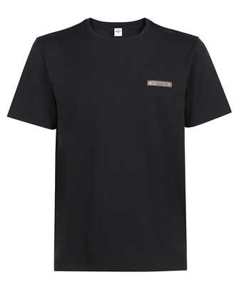 BERLUTI R20JRS62 002 LEATHER DETAIL T-shirt