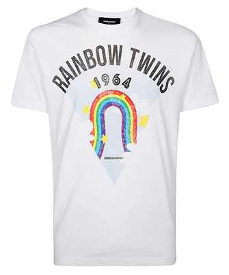 Dsquared2 S71GD0875 S22844 RAINBOW T-shirt