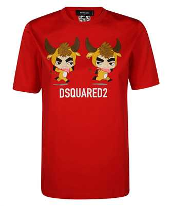 Dsquared2 S75GD0198 S23009 GOOD LUCK T-shirt