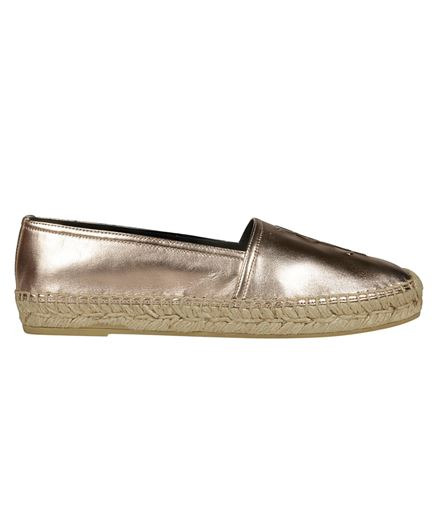 Saint Laurent 458573 0XQ00 BRASS Espadrilles