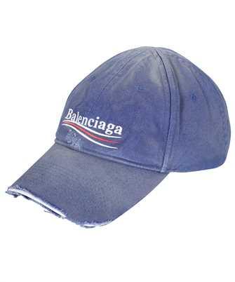 Balenciaga 661884 410B2 POLITICAL DESTROYED Cap
