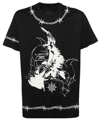 Givenchy BM71663Y6B GOTHIC OVERSIZED T-shirt
