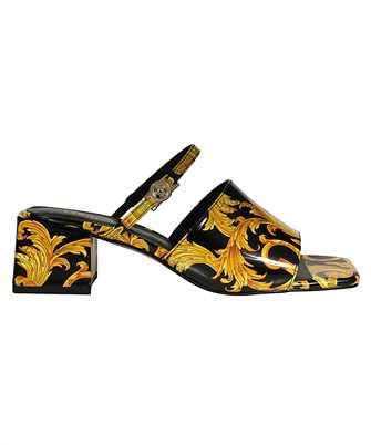 Versace Jeans Couture E0VWAS3371982 LOGO BAROQUE PRINT Sandals