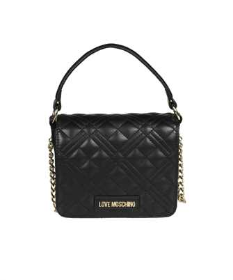 LOVE MOSCHINO JC4277PP0CKN QUILTED GOLD LOGO Bag