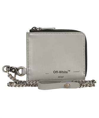 Off-White OMNC013F19853026 LOGO CHAIN Wallet