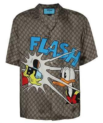Gucci 646446 ZAGCN DONALD DUCK PRINT Shirt