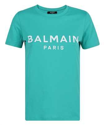 Balmain VF11350B019 PRINTED LOGO T-shirt