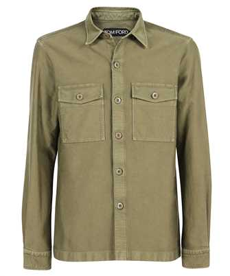 Tom Ford 2FT699 94GGNW MILITARY LEISURE GARMENT DYED Shirt