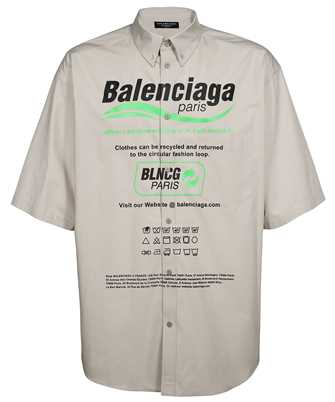 Balenciaga 664627 TKM10 LARGE FIT Shirt