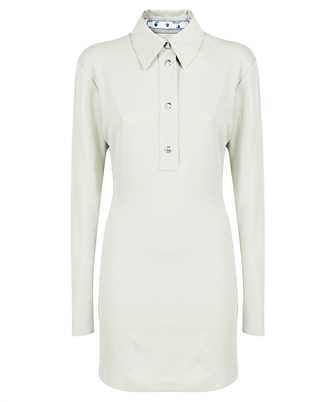 Off-White OWDB355F21JER001 JERSEY L/S SHORT SHIRT Dress