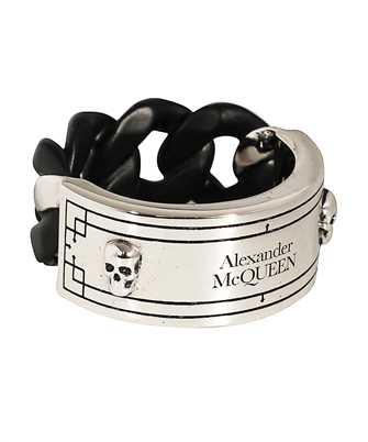 Alexander McQueen 599980 J160K IDENTITY Anello