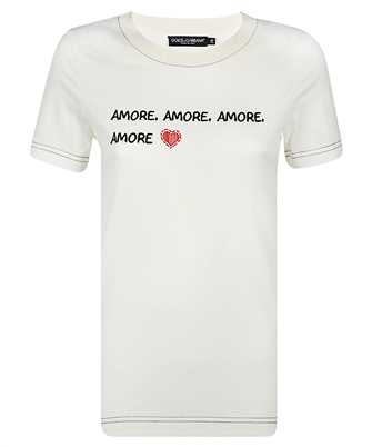 Dolce & Gabbana F8M68Z G7XCA AMORE T-shirt