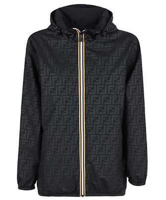 Fendi FAN019 AERR K-WAY REVERSIBLE WINDBREAKER Jacket