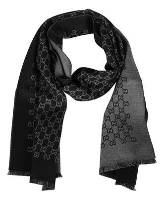Gucci 391246 4G200 DOUBLE JACQUARD GG Scarf