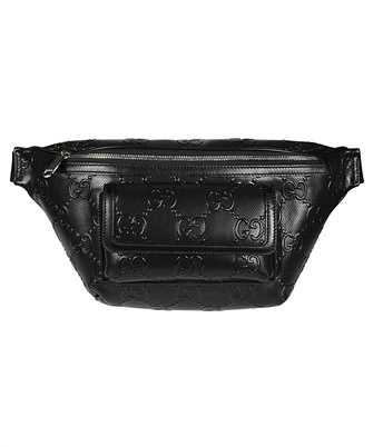Gucci 645093 1W3CN GG EMBOSSED Belt bag