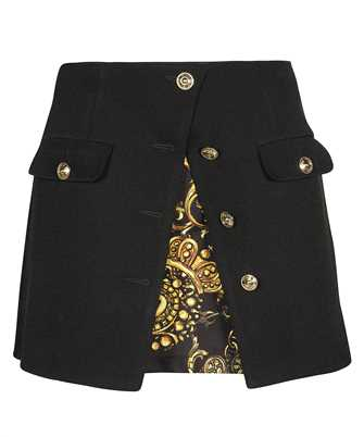 Versace Jeans Couture 71HAE8A3 N0006 REGALIA BAROQUE PRINT ACCENT Skirt