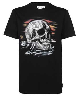 Philipp Plein AAAC UTK 0114 PJY002N ROUNKD NECK SS STONES SKULL T-shirt