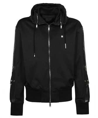Givenchy BMJ0BP30AE TECH JERSEY 4G PLATE Hoodie