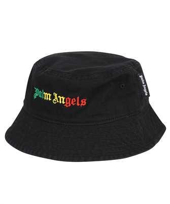 Palm Angels PMLA011S21FAB005 MIAMI LOGO BUCKET Hat