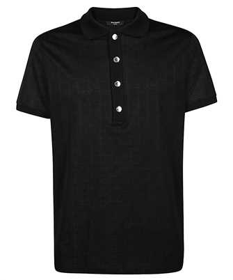 Balmain TH11008Z400 ALL OVER MONOGRAM Polo