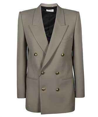 Saint Laurent 648754 Y7B73 DOUBLE-BREASTED WOOL GABARDINE Jacket
