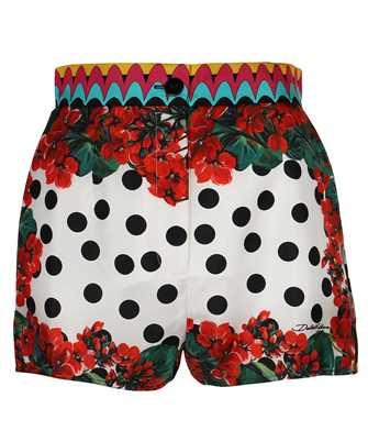 Dolce & Gabbana FTBTPT GDY14 PATCHWORK TWILL HIGH-WAISTED Shorts