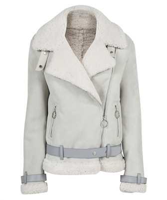 Off-White OWJA054F21LEA001 SHEARLING Jacket