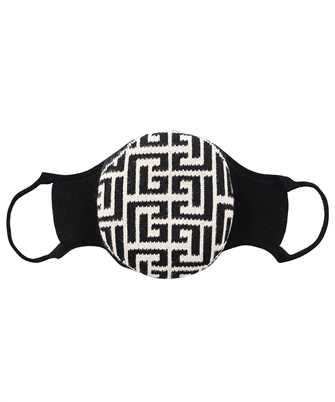 Balmain WH1XD001K265 KNITTED MONOGRAM Maske