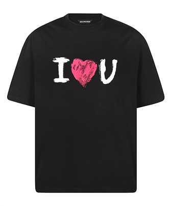 Balenciaga 612966 TJVL5 I LOVE U MEDIUM FIT T-shirt