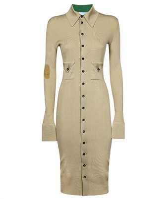 Bottega Veneta 661534 V0ZM0 RIBBED SILK Dress