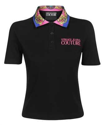 Versace Jeans Couture 71HAGT03 CJ01T BAROQUE COTTON PIQUET Polo
