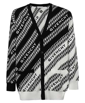 Givenchy BM90F84Y7A CHAIN OVERSIZED Cardigan
