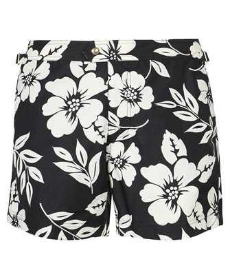 Tom Ford BW655 TFB450 FLORAL PRINT Swim shorts