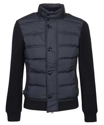 Woolrich CFWOSW0114MRUT2849 BONDED WOOL FULL ZIP Jacket