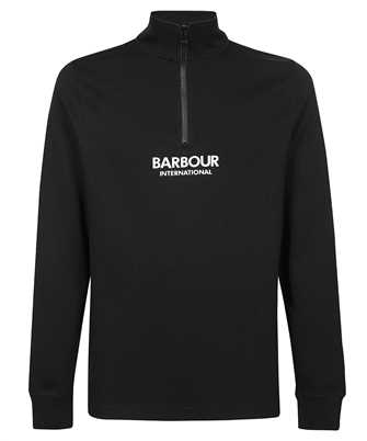 Barbour MOL0310BK31 INTERNATIONAL TRANSMISSION HALF ZIP Sweatshirt
