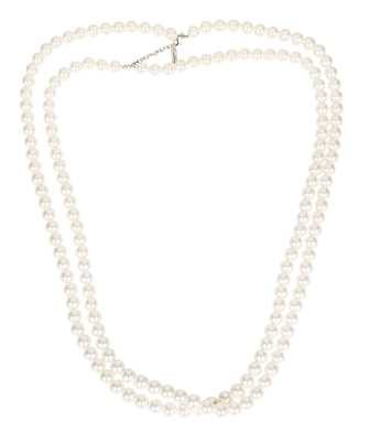 Saint Laurent 671650 Y1526 LONG TWO-STRAND PEARL Collana