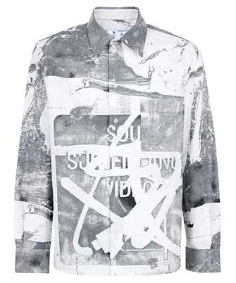Off-White OMGA190F21FAB006 TOMEK SKATE Shirt