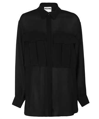 Moschino 0212 5537 OVERSIZED SILK Shirt