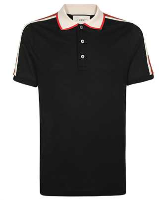 Gucci 500972 X9M38 LOGO STRIPE Polo