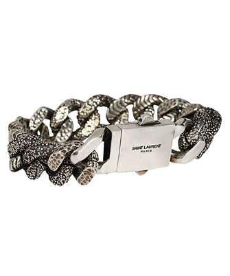 Saint Laurent 607989 Y1500 TRI-TEXTURE Bracelet