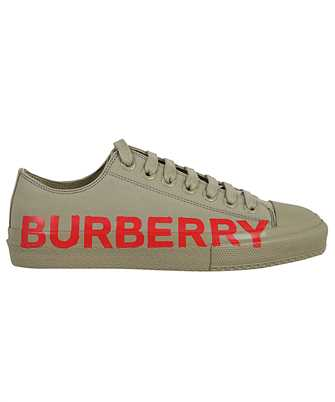 Burberry 8037649 LOGO PRINT COTTON GABARDINE Sneakers