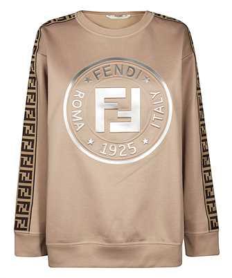 Fendi FAF129 AB4D FENDIRAMA Sweatshirt