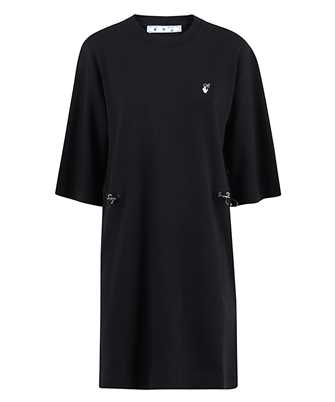 Off-White OWDB222E20JER001 FLOCK ARROW Dress