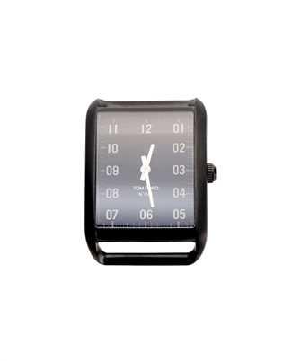 Tom Ford 20140886 MATTE BLK DIAL 44X30 MATTE STAINLESS STEEL W/ BLACK DLC Watch