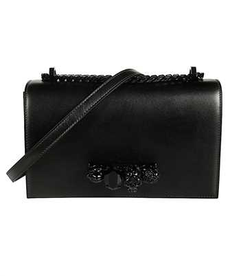 Alexander McQueen 554128 CMO0V JEWELLED SATCHEL Bag