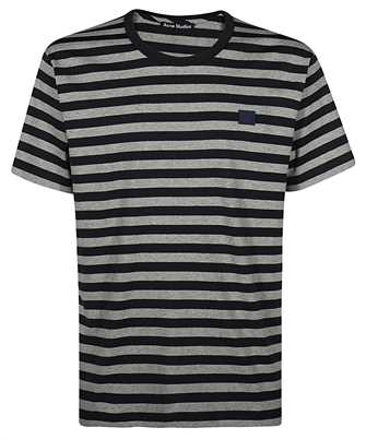 Acne FA UX TSHI000050 STRIPED LOGO T-Shirt