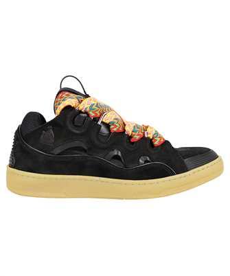 Lanvin FM SKRK11 DRAG A20 LEATHER CURB Sneakers