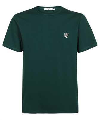 Maison Kitsune HM00107KJ0008 GREY FOX HEAD PATCH CLASSIC T-shirt