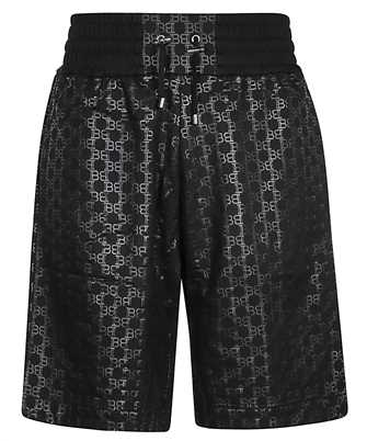 Balmain TH05751I269 ALL OVER MONOGRAM Shorts
