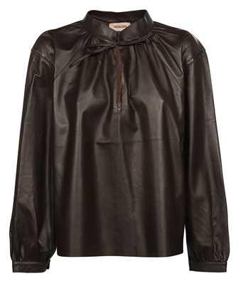 Yves Salomon 22W22WYH20158 APXX LAMB LEATHER Shirt